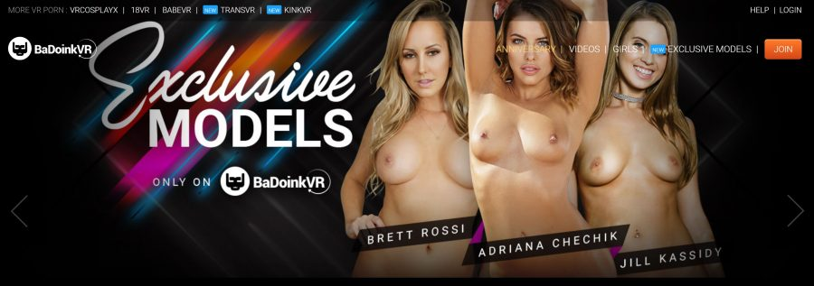 BadoinkVR - exclusive models in VR porn