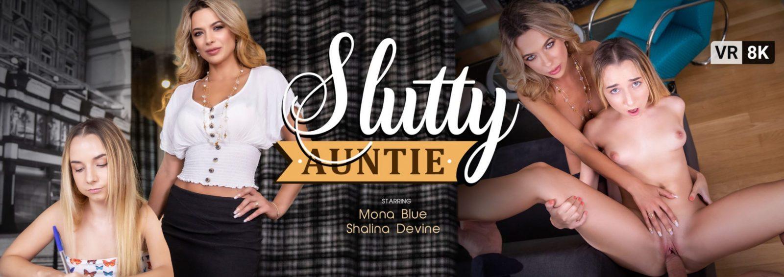 VR Bangers - Slutty Auntie banner