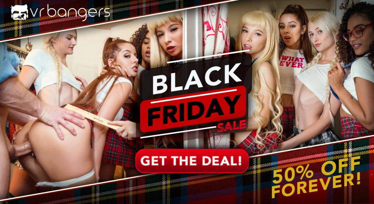 VRBangers Black Friday Sale
