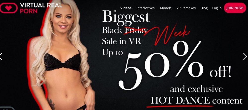 VirtualRealPorn - Black Friday Offer