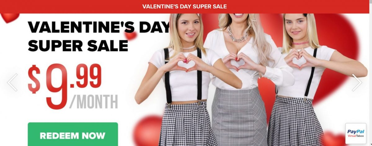 VirtualTaboo - Valentines Day Offer - 2020