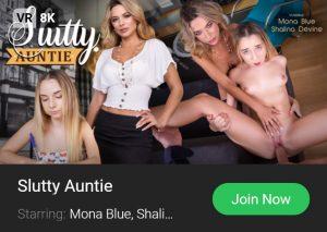 VRB Slutty Aunty widget banner 8K